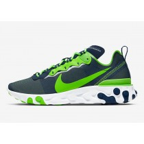 "NFL x Nike React Element 55 ""Seattle Seahawks"" CK4802-400"