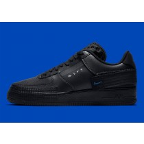 "Nike Air Force 1 Type ""Triple Negras"" AT7859-001"