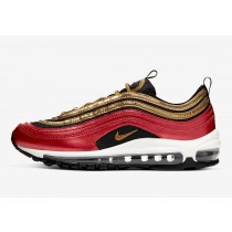 Nike Air Max 97 Rojas Oro Sequin Mujer CT1148-600