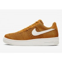 Nike Air Force 1 Flyknit Oro SUEDE CI0051-700