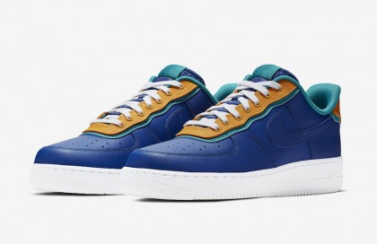 Nike Air Force 1 Low Indigo Force AO2439-401