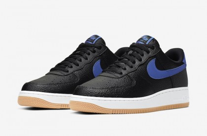Nike Air Force 1 Negras Game Real Gum CI0057-001