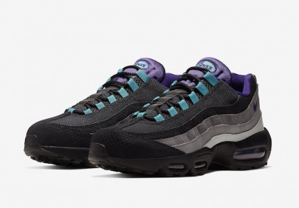 Nike Air Max 95 Negras Grape Negras Court Moradas Teal Nebula AO2450-002