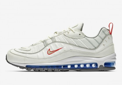 Nike Air Max 98 Blancas Plata | CD1538-100