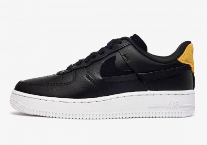 """Nike Mujer Air Force 1 '07 LX Low """"Inside Out"""" Negras 898889-014"""