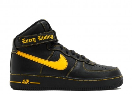 Air Force 1 High Vlone Unversity Negras Oro 778900-906950