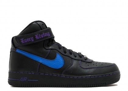 "Nike air force 1 high ""vlone"" Negras, prize Azules, court Moradas 778911-906813"