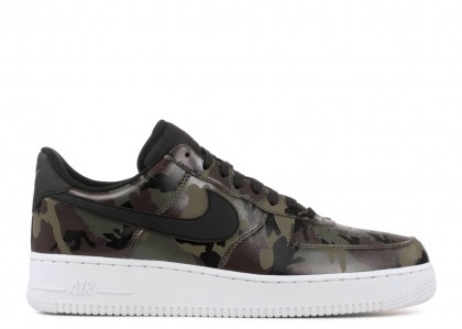 """Nike AIR FORCE 1 """"OLIVE REFLECTIVE CAMO"""" 823511-201"""