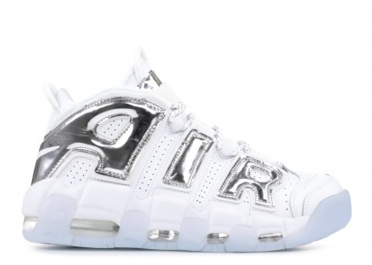 "Mujer Air More Uptempo ""Chrome""- Nike - 917593 100"