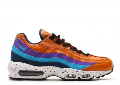 Nike Air Max 95 Premium Safety Naranjas Monarch - 538416-800