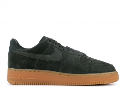 Nike Air Force 1 '07 LV8 Suede (Verdes / gum) - AA1117-300