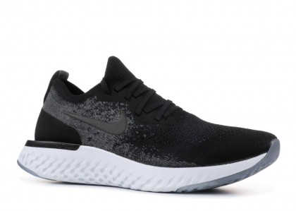 "Mujer Epic React Flyknit ""Negras""- Nike - AQ0070 001"