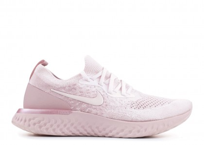 Nike Epic React Flyknit Pearl Rosas Mujer - AQ0070-600