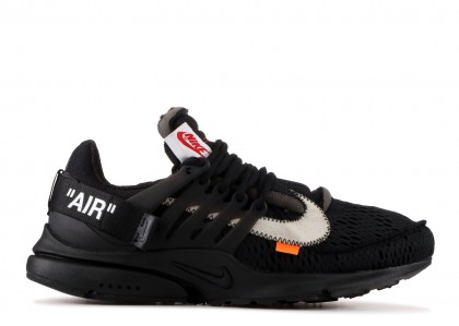 Air Presto Off-White Negras (2018) - AA3830-002