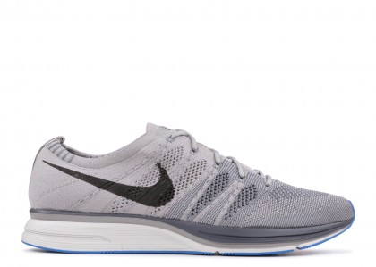 Nike Flyknit Trainer Gris Azules AH8396-006