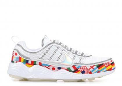"Air Zoom Spiridon ""International Flag""- Nike - AO5121 100"