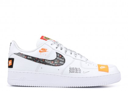 Air Force 1 Low Just Do It Pack Blancas/Negras - AR7719-100