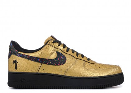 "Hombre AIR FORCE 1 LOW '07 ""CARIBANA"" (METALLIC Oro)"