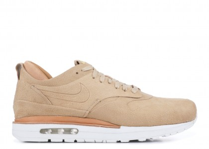 Nike Air Max 1 Real Linen/Summit Blancas 847671-221