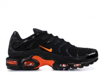 Air Max Plus Negras Naranjas - AO9564-001
