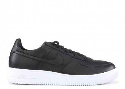 Nike Air Force 1 ultraforce LTHR Negras, Negras- Blancas 845052-003