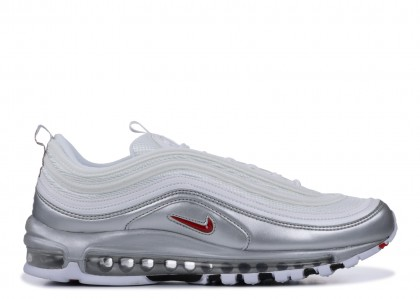 "Air Max 97 QS ""B-Sides Blancas Plata""- Nike - AT5458 100"