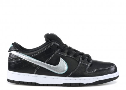 Nike SB Dunk Low Diamond Supply Co Negras Diamond - BV1310-001