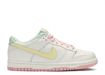 DUNK LOW Mujer Blancas, halo, real Rosas, medium mint - 309601-171