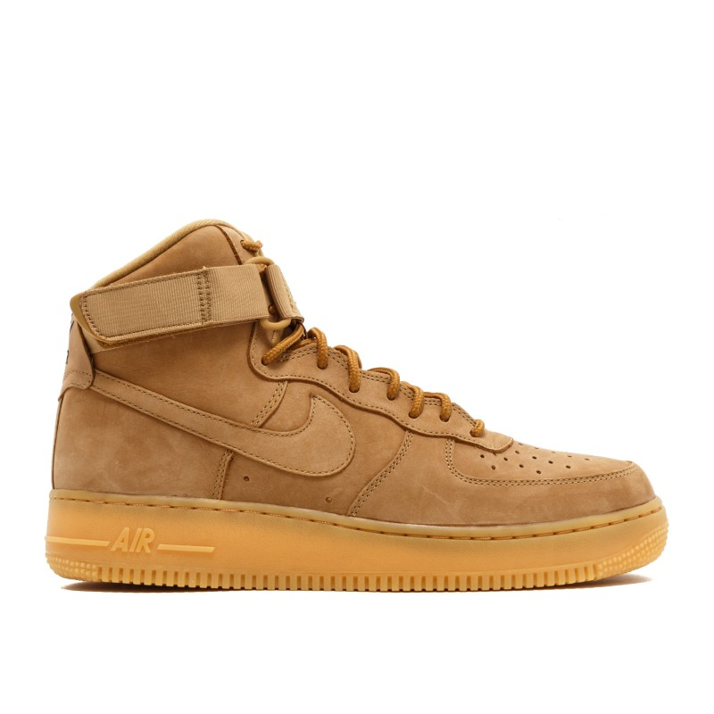 "Air Force 1 High '07 LV8 WB ""Flax"" - Nike - 882096 200"