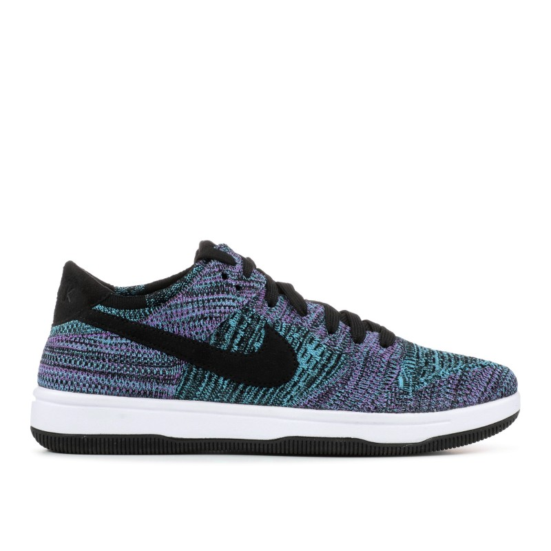 Nike dunk flyknit Negras, bright violet, Blancas, chlorine Azules 917746-005