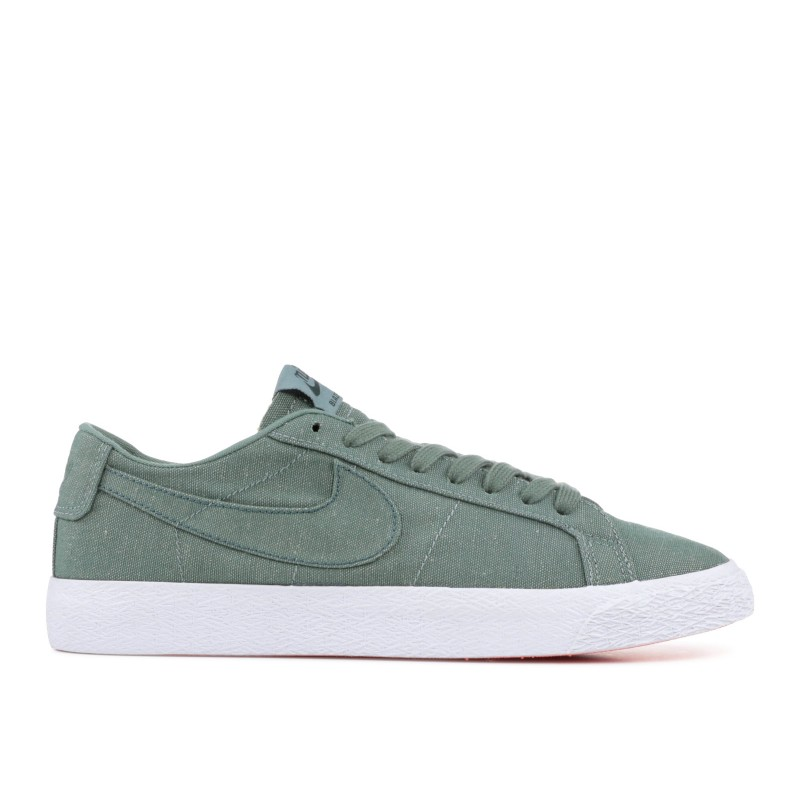 Nike SB Blazer Low Canvas Decon Clay Verdes - AH3370-300