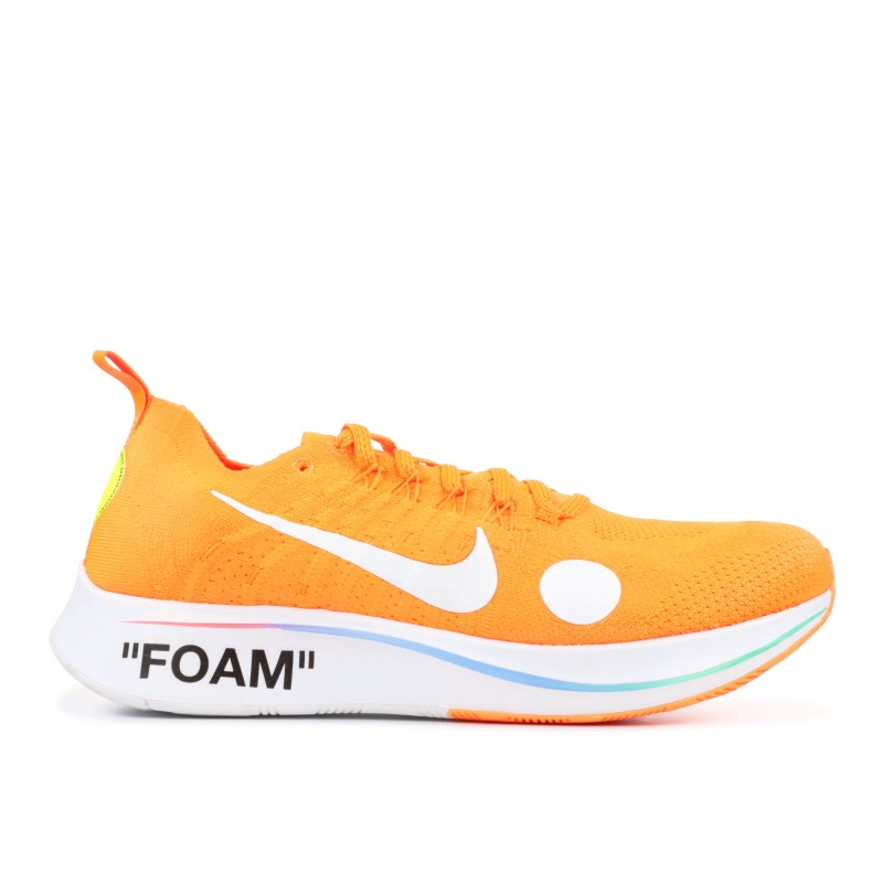 Nike Zoom Fly Mercurial Off-White Total Naranjas - AO2115-800