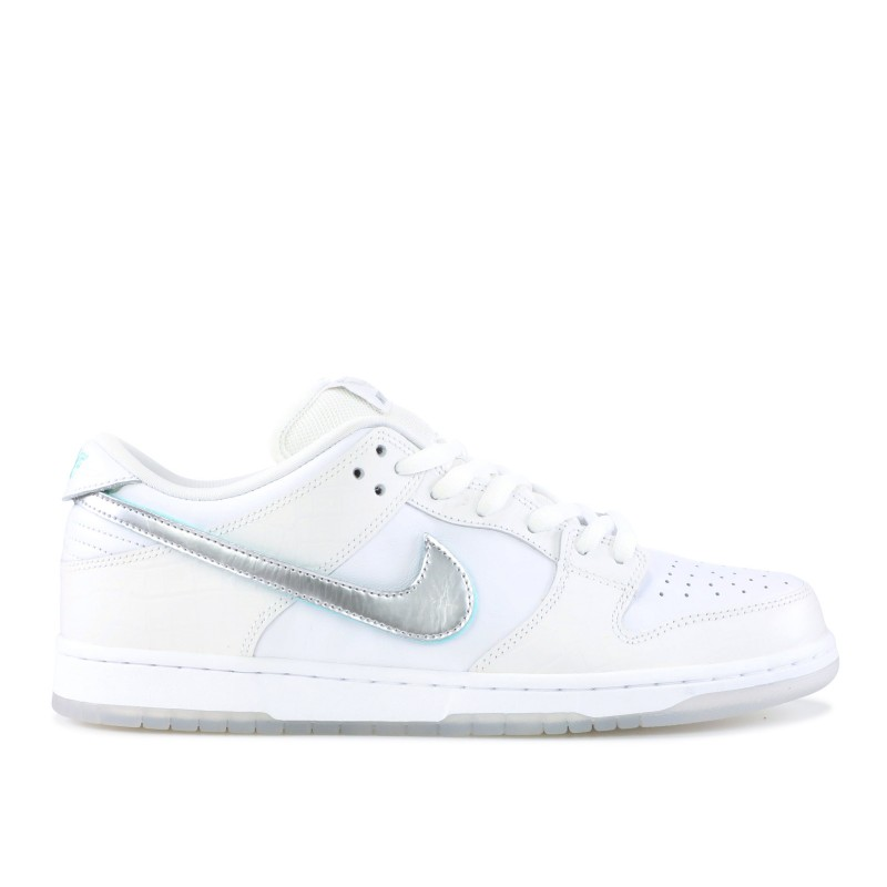 Nike SB Dunk Low Diamond Supply Co Blancas Diamond - BV1310-100