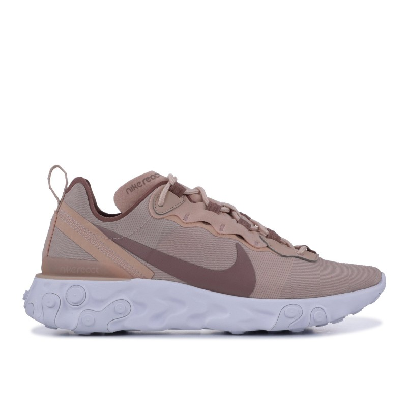 Nike Mujer React Element 55 Particle Beige | BQ2728-200