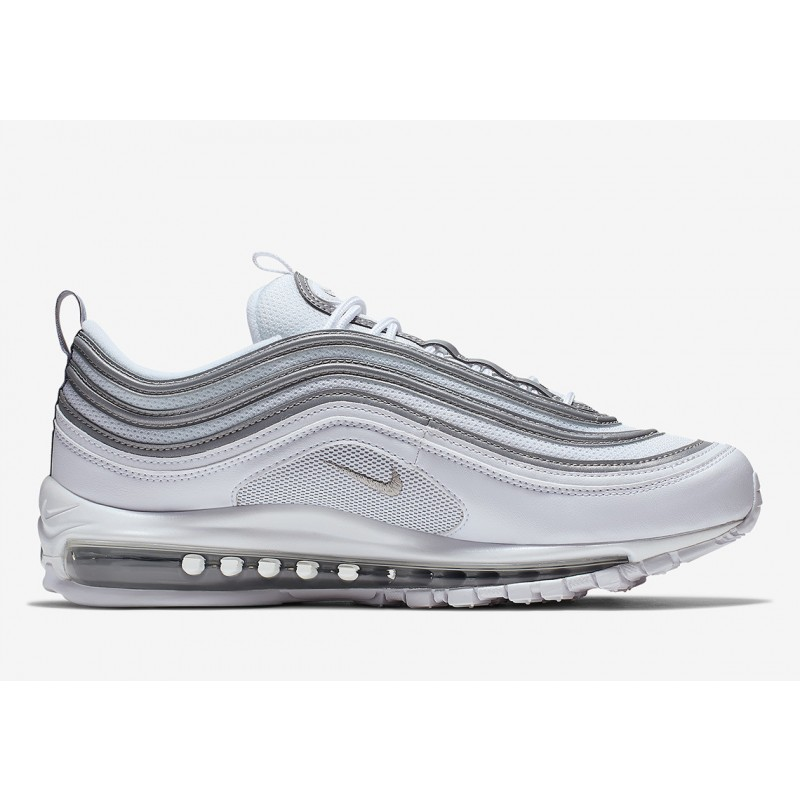 Air Max 97 Blancas Reflect Plata - 921826-105