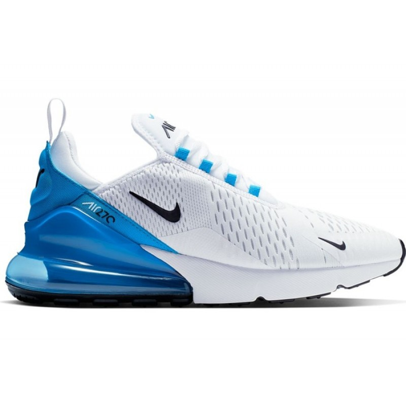 Air Max 270 Blancas Negras Photo Azules - AH8050-110