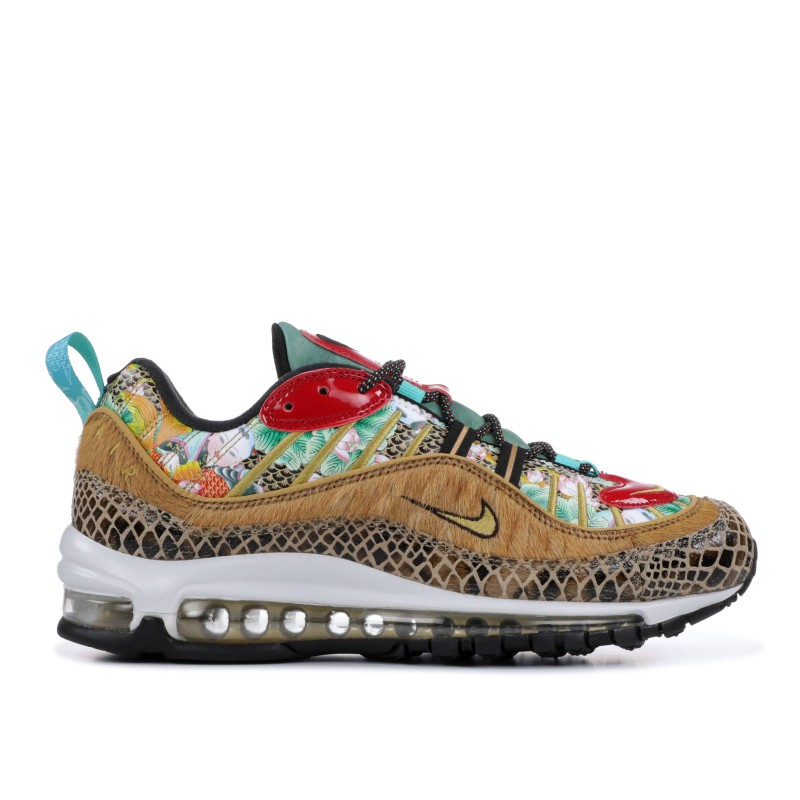 AIR MAX 98 wheat, metallic Oro-Negras - bv6649-708