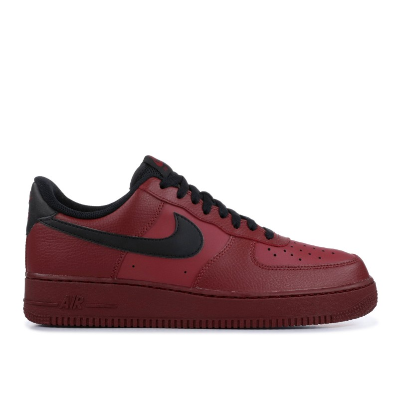 AIR FORCE 1 '07 team Rojas, Negras - 315122-614