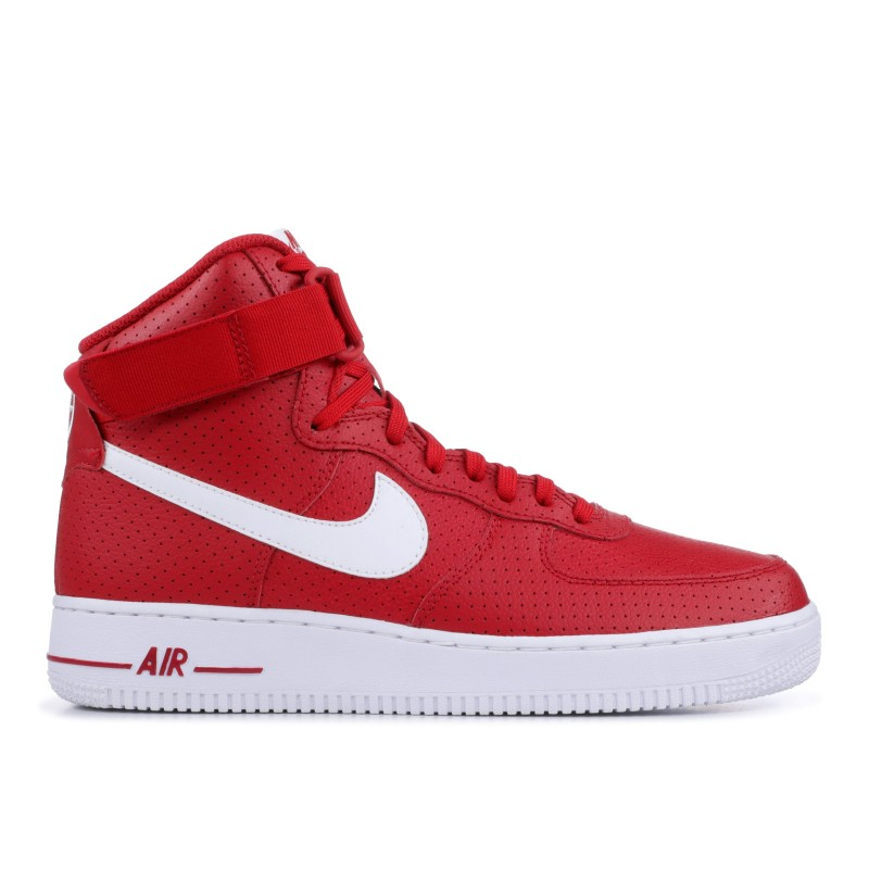 AIR FORCE 1 HIGH '07 gym Rojas, Blancas-Blancas - 315121-606