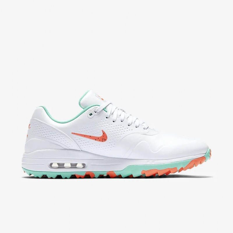 Air Max 1 Golf Zapatillas Blancas/Aurora/Hot Punch - AQ0863-104