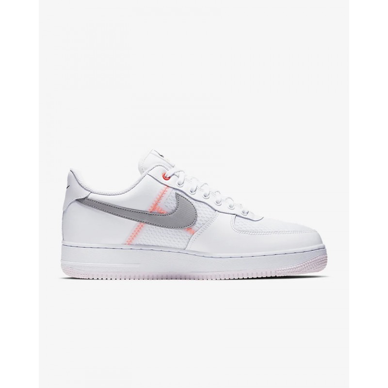 Air Force 1 '07 LV8 Blancas/Off Noir/Hyper Crimson/Atmosphere Gris - CI0060-101