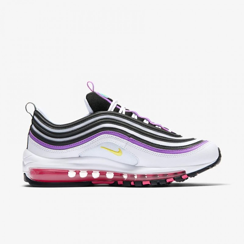 Air Max 97 Blancas/Bright Violet/Aurora/Dynamic Amarillas - 921733-106