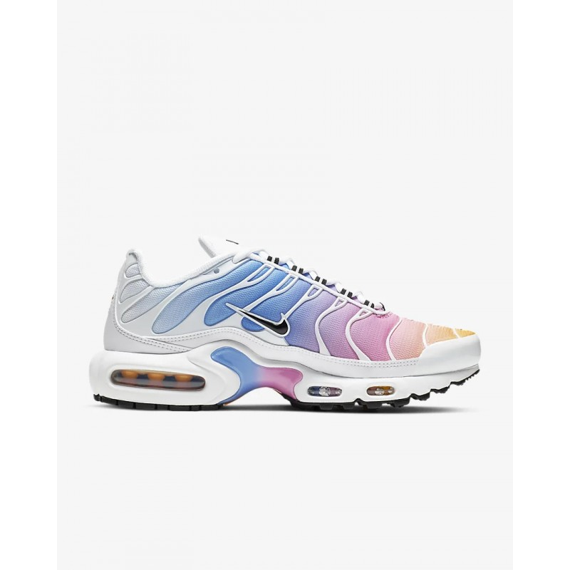 Air Max Plus Metallic Blancas/University Azules/Psychic Rosas/Negras - 605112-115