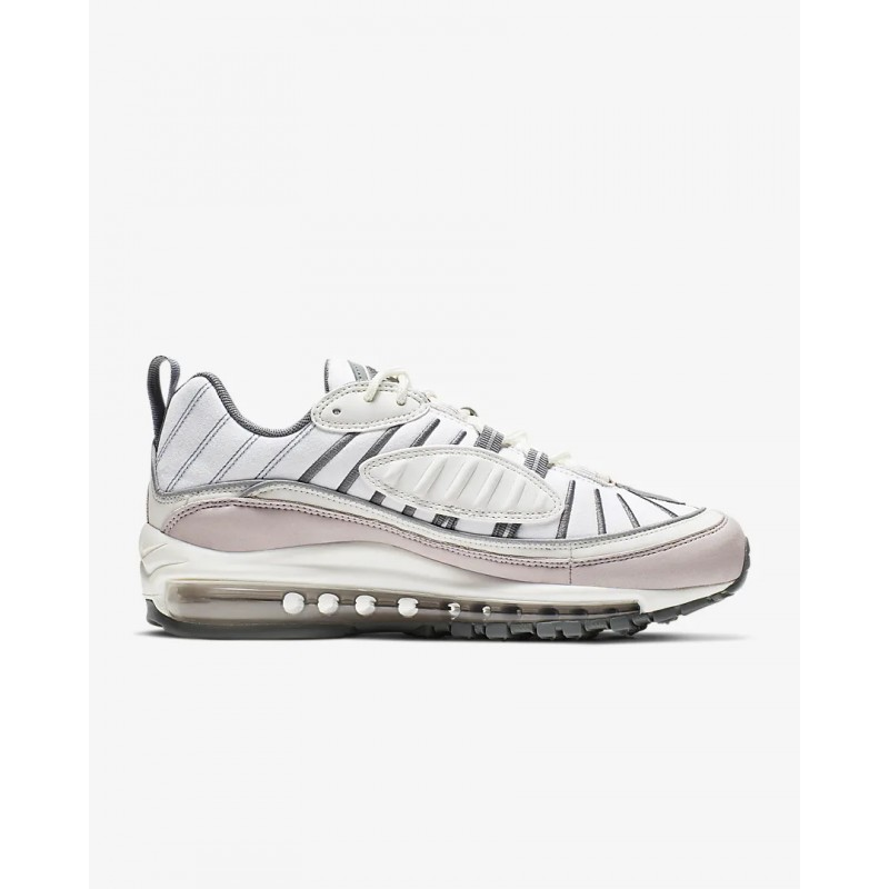 Air Max 98 Summit Blancas/Cool Gris/Reflect Plata/Violet Ash - AH6799-111