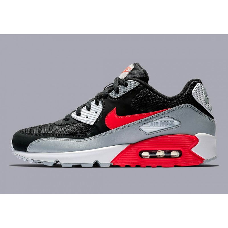 "Air Max 90 Essential ""Bright Crimson""- Nike - AJ1285 012"