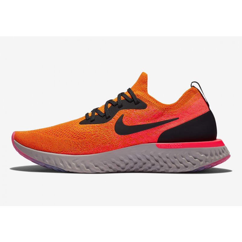 Nike Epic React Flyknit Copper Flash - AQ0067-800