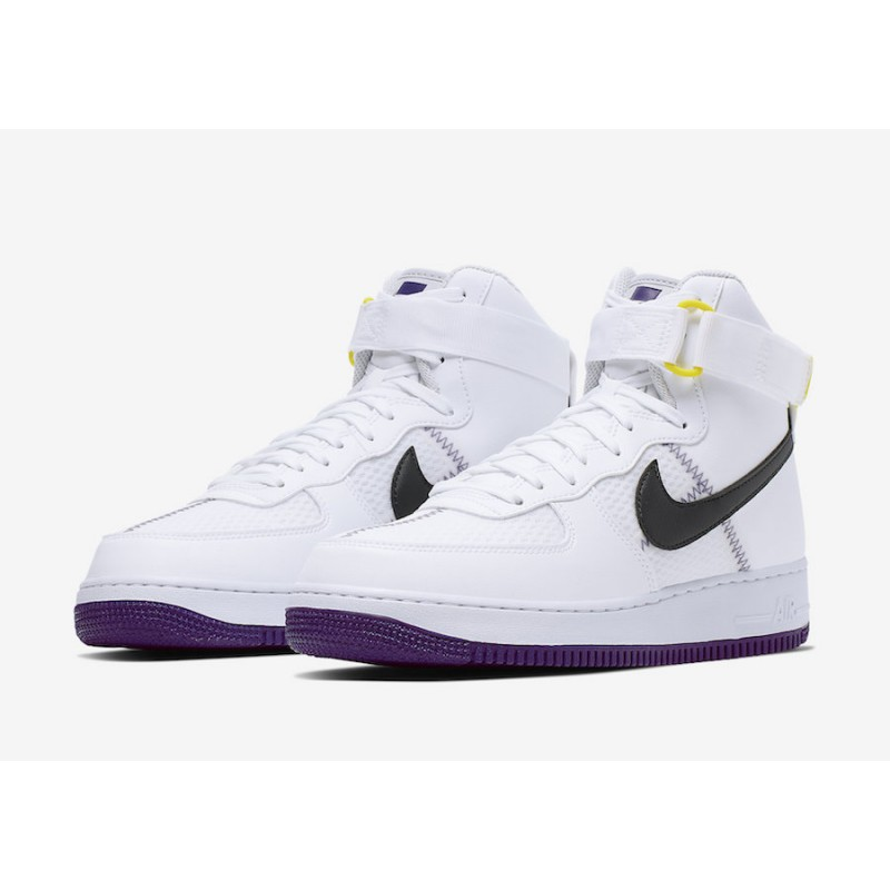 Nike Air Force 1 High Blancas Court Moradas CI1117-100