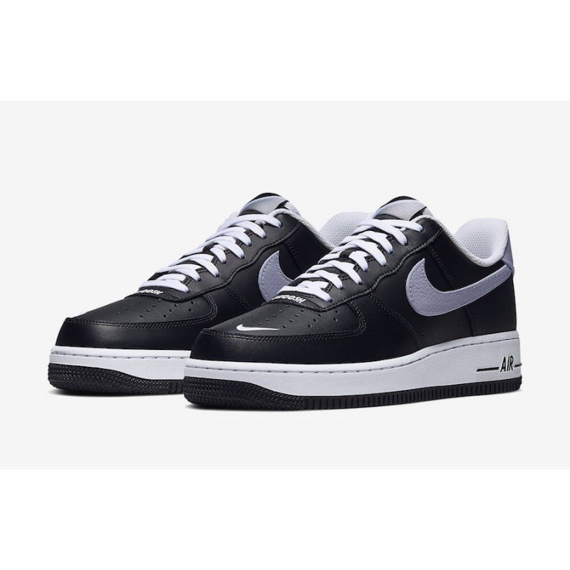 Nike Air Force 1 Low Negras Wolf Gris CJ8731-001
