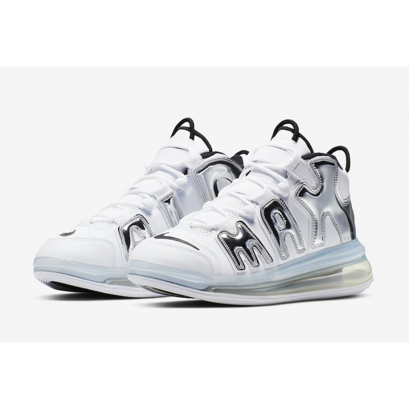 Nike Air More Uptempo 720 Blancas Chrome BQ7668-100