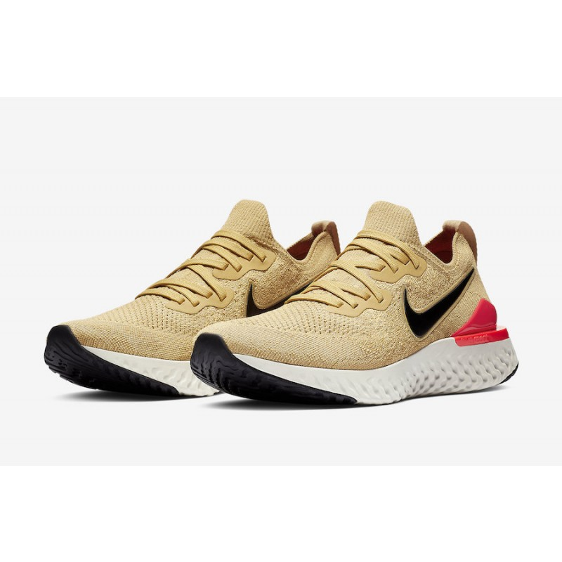 Nike Epic React Flyknit 2 Club Oro BQ8928-700